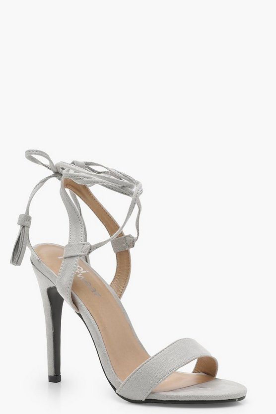 Lacey Wrap Strap Detail Barely There Sandals
