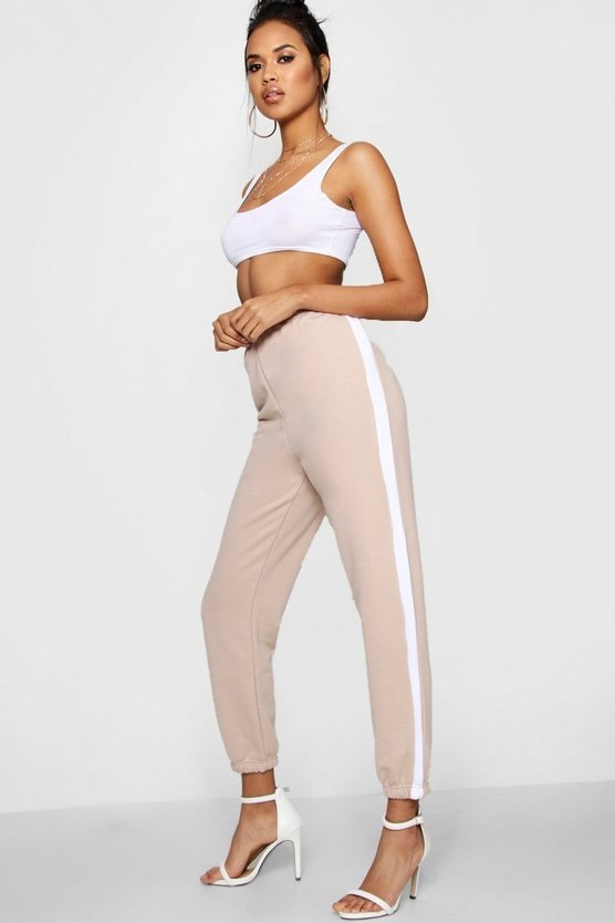 Verity Athleisure gestreifte Jogginghose