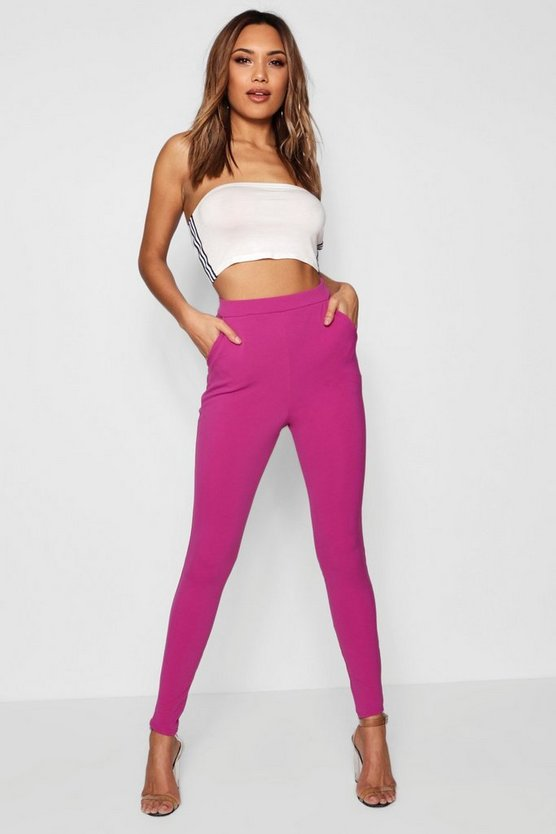 Scuba Skinny Stretch Trousers
