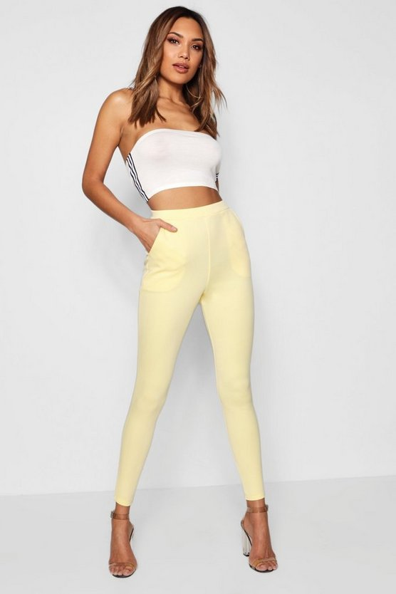 Carmilla Scuba Skinny Stretch Trousers