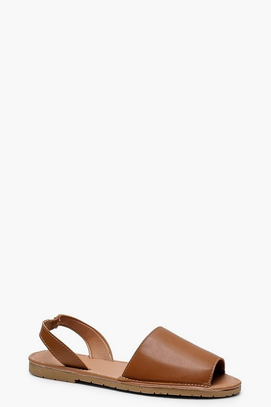 Faith Peeptoe Sling Back Sandals
