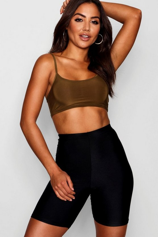 Strappy Slinky Crop Top
