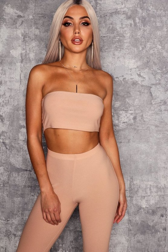 Lucinda Bandeau Crop Top