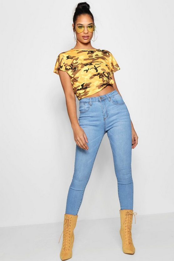 Tanya Mid Rise Stretch Skinny Jeans