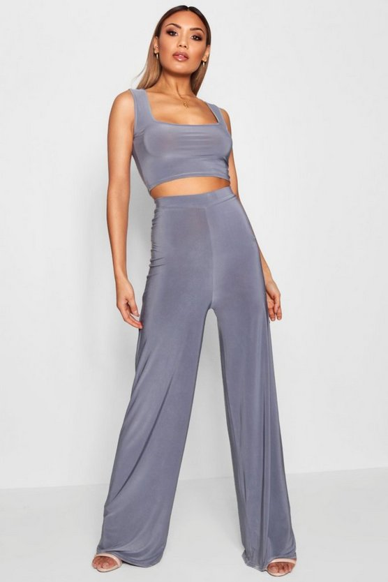 Danielle Slinky Wide Leg Trousers
