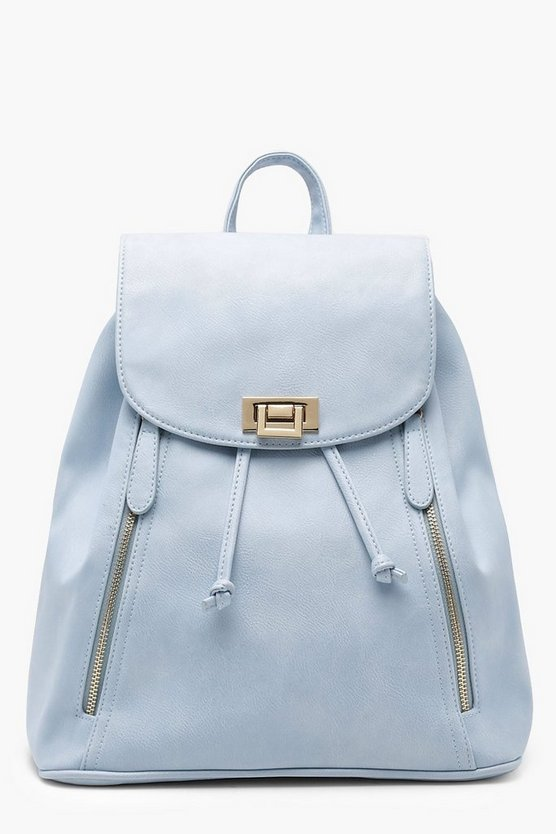Anna Zip And Lock Rucksack