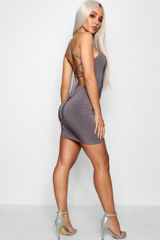 Eleanor Strappy Back Detail Bodyon Dress