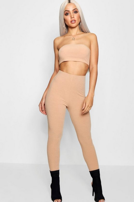 Bella Bandeau Top & High Waisted Legging Co-Ord
