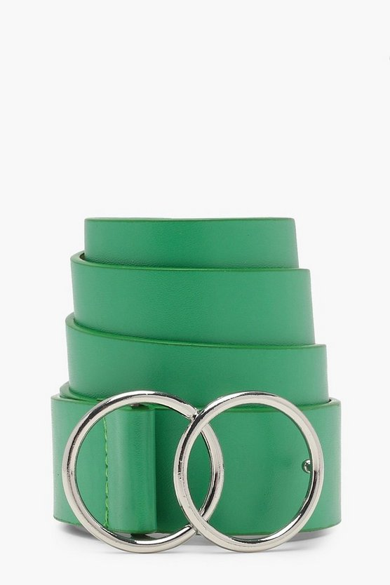 Ava Double Ring Boyfriend Belt