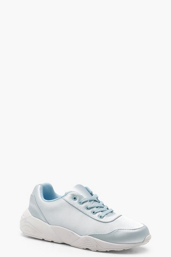 Satin Sporty Trainers
