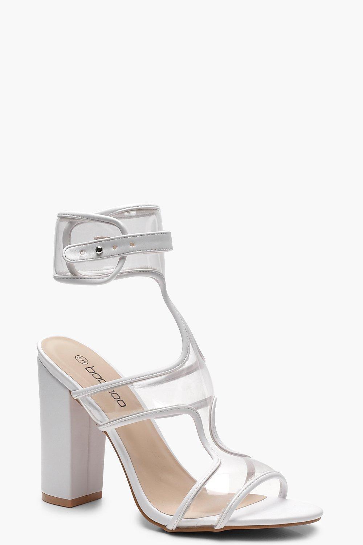 Фото #1: Clear Strap Sandals