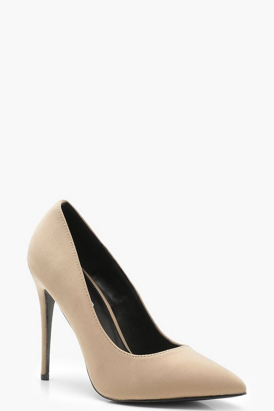 Matilda Pointed Toe Court Shoes