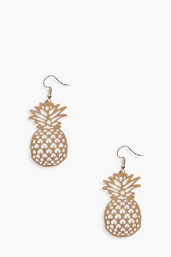 Hannah Pineapple Earrings