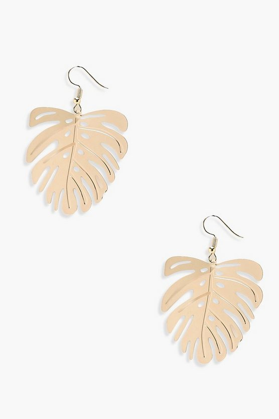 Rosie Leaf Earrings
