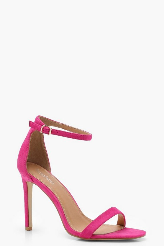 Poppy Bright 2 Part Heels