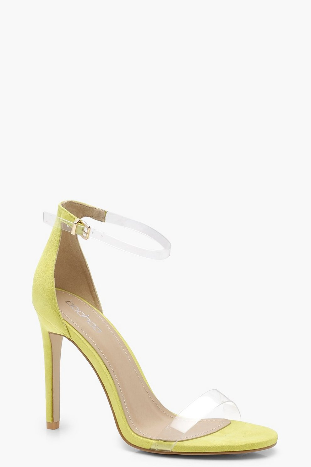 Olivia Clear Band 2 Part Heels eJXn8rzU3