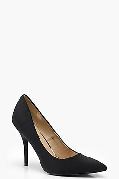 Faith Pointed Toe Mid Heel Courts