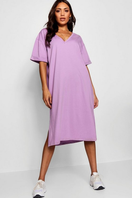 Dani Oversized Midi T Shirt Dress