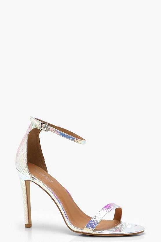 Iridescent Mermaid 2 Part Heels