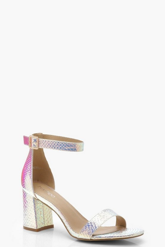 Brooke Mermaid Block Heels