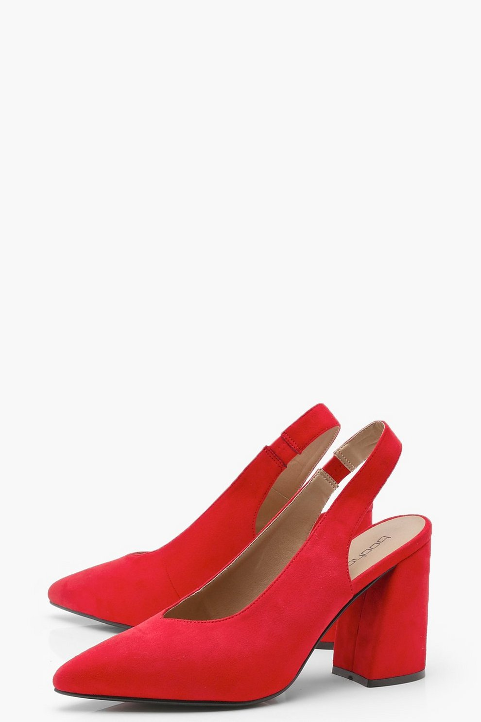 Anna Sling Back Pointed Heels by Boohoo