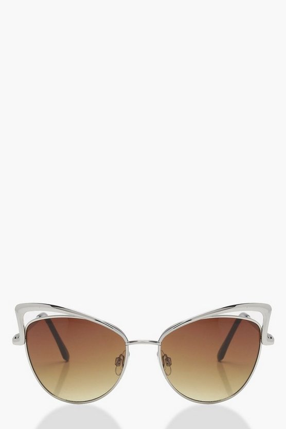 Anna Cut Out Cat Eye Sunglasses