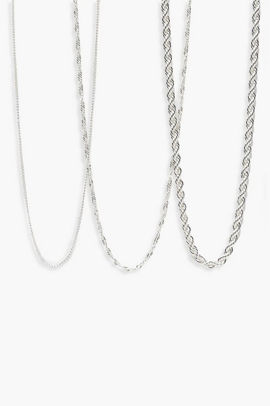 Laura Chunky Layered Chain Necklace