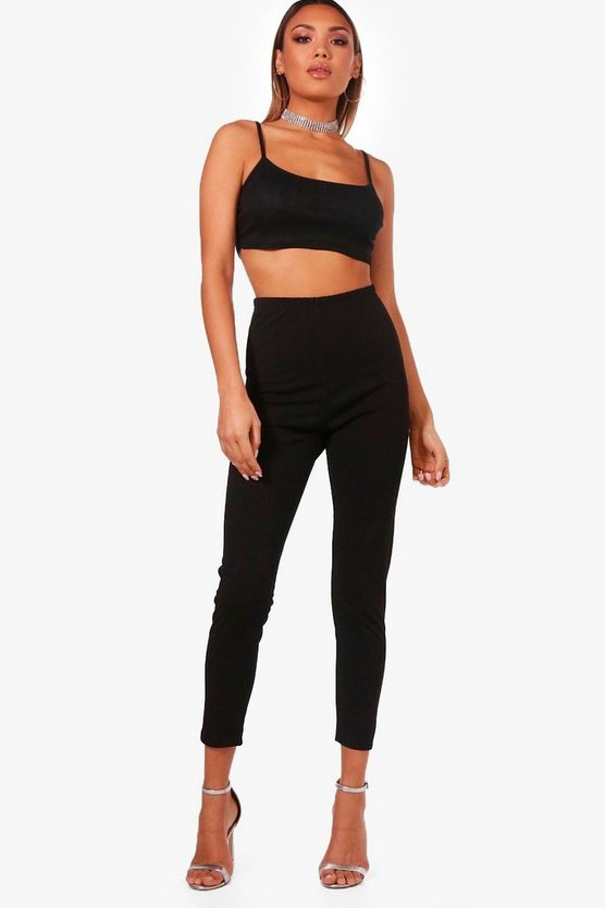 Highwaist Crepe Leggings