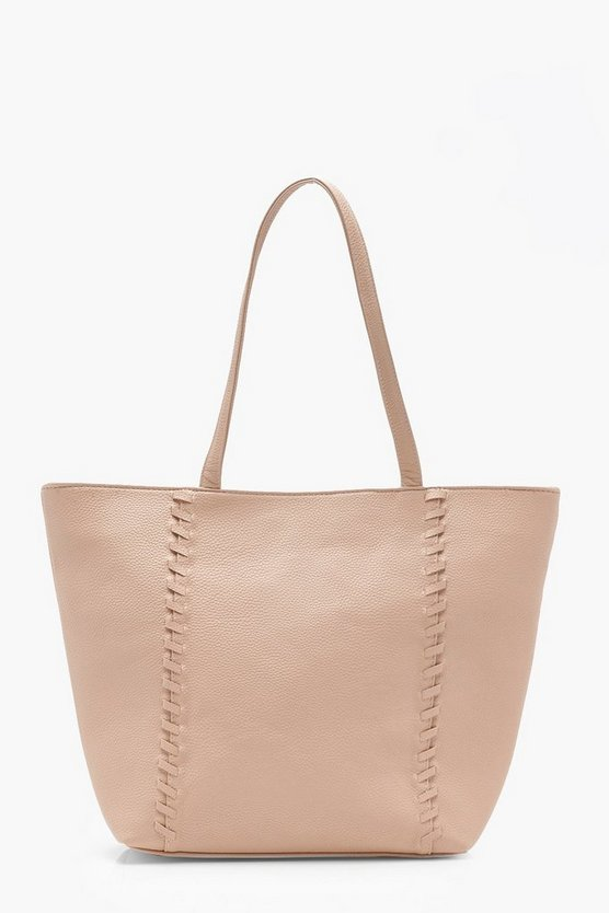 Faye Whipstitch Shopper Bag