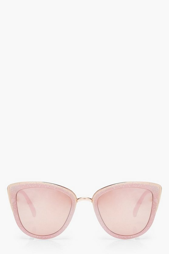 Glitter Oversized Sunglasses
