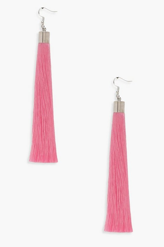 Molly Extra Long Tassel Earrings