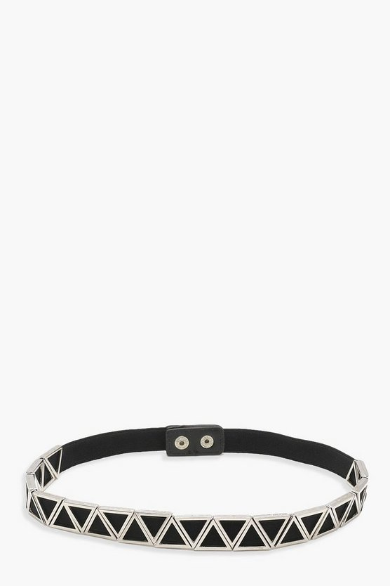Emma Metal Geo Waist Belt