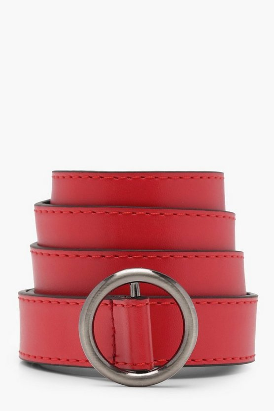 Lily Ring Buckle Belt