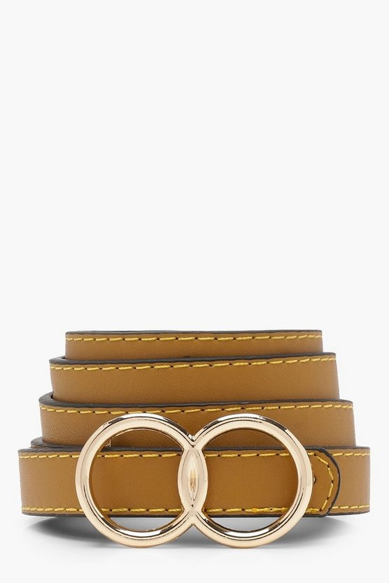 Millie Double Ring Boyfriend Belt