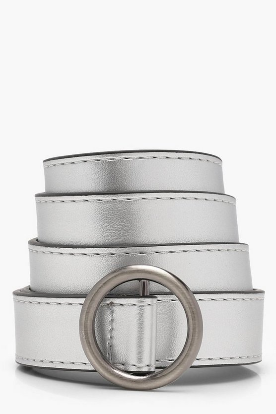 Hannah Ring Detail Buckle Belt