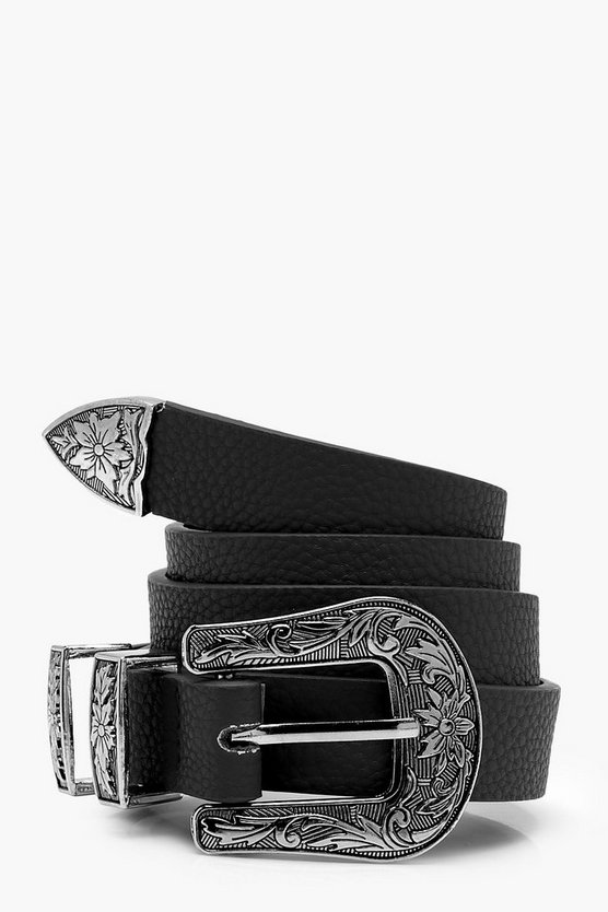 Colour Pop Western Belt