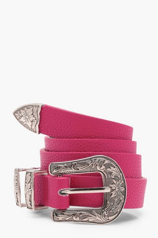 Lola Colour Pop Western Belt