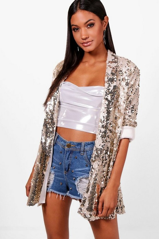 Maria Summer Sequin Blazer