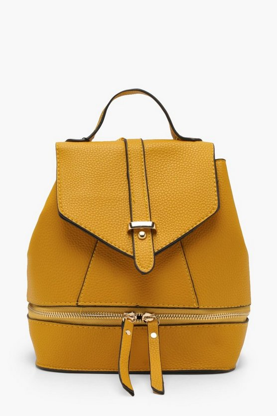 Rosie Zip Base Flap Rucksacks