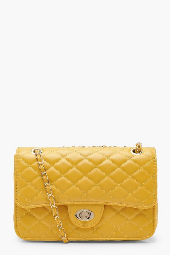 Yasmin Square Quilted Cross Body