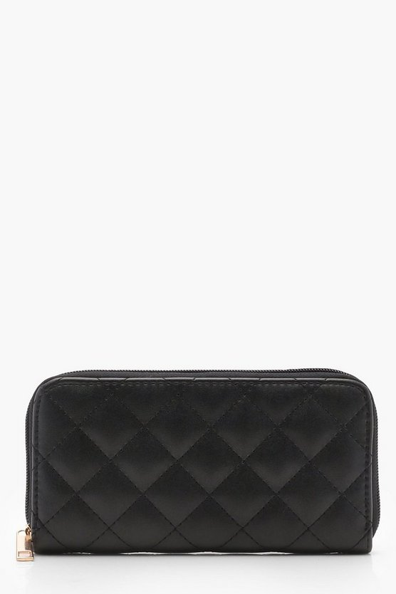 Rosie Quilted Ziparound Purse