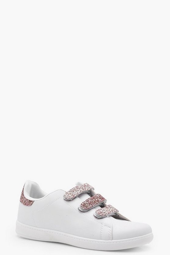 Brook Glitter Strap Trainer