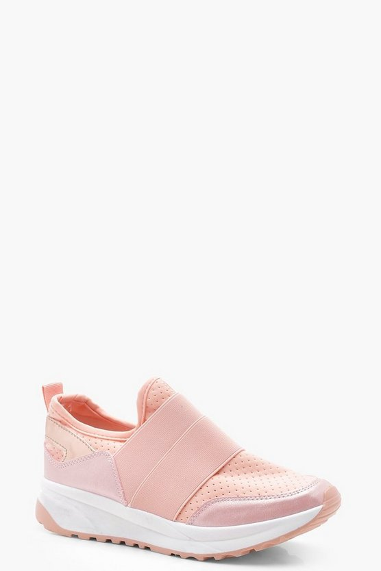 Hannah Elastic Strap Trainers