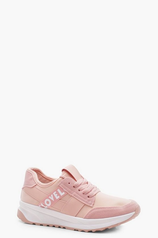 Olivia Slogan Sports Trainers