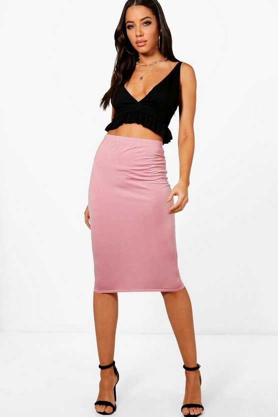 Molly Soft Touch Midi Skirt