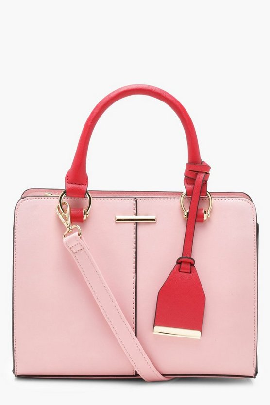 Sofia Structured Mini Tote Cross Body Bag