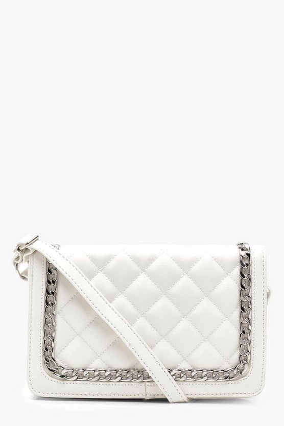 Sarah Quilt & Chain Cross Body