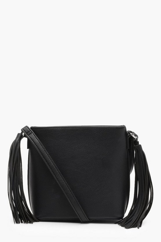 Tassel Side Cross Body