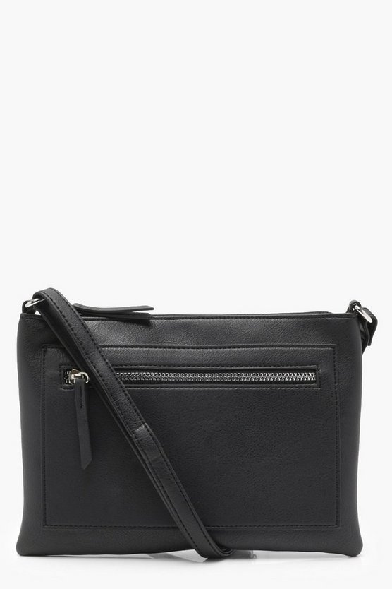 Mimi Zip Pocket Cross Body Bag