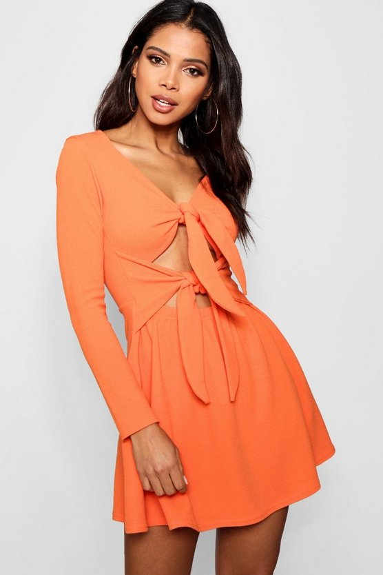 Zani Double Knot Skater Dress